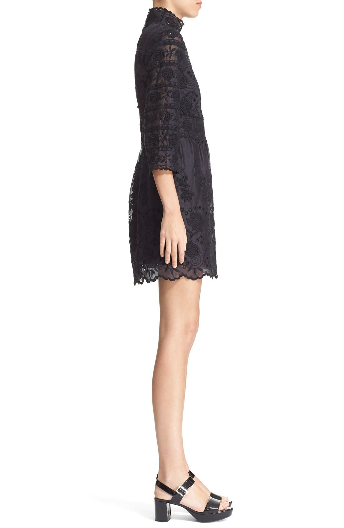 Alternate Image 5  - MARC JACOBS Broderie Anglaise Cotton Voile Dress