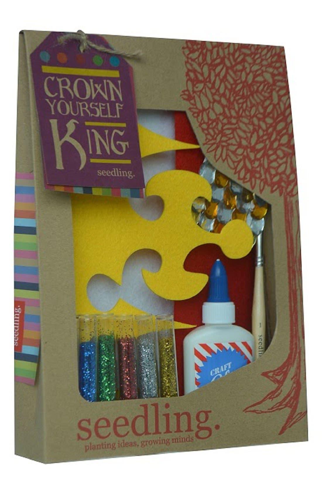 Alternate Image 1 Selected - seedling 'Crown Yourself King' DIY Craft Set