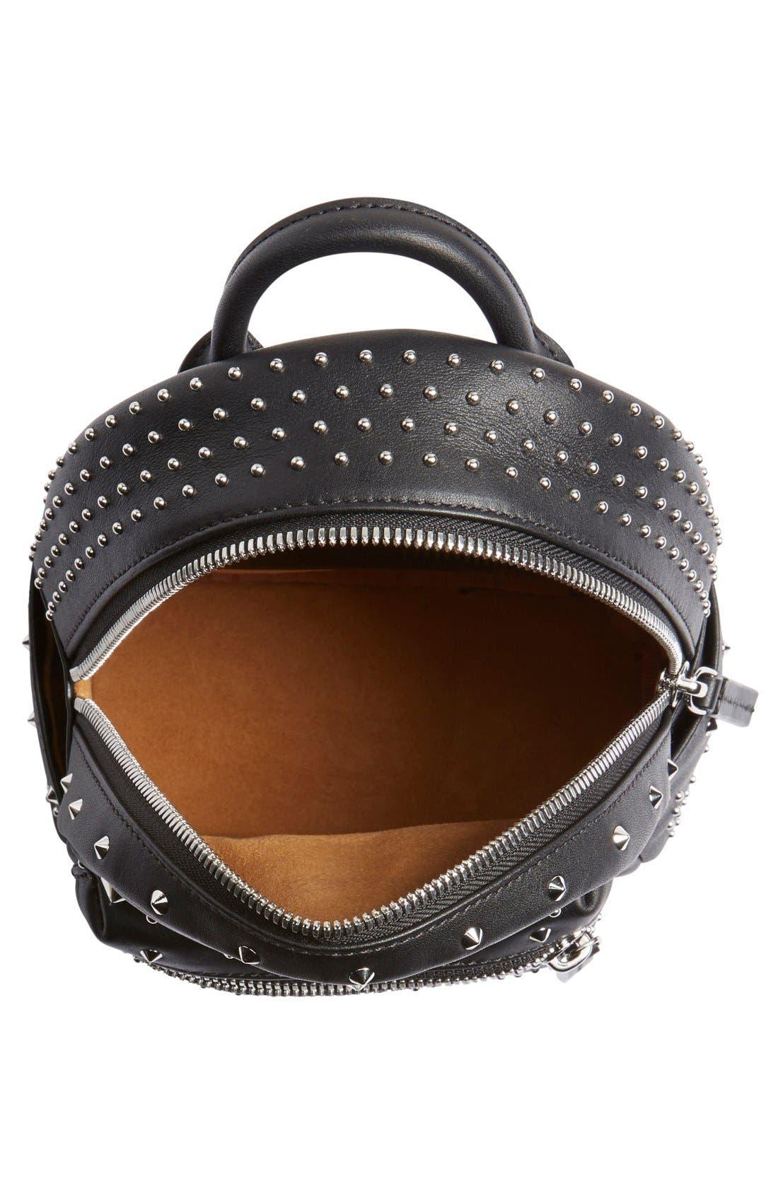 Alternate Image 4  - MCM 'X-Mini Stark - Bebe Boo' Studded Leather Backpack