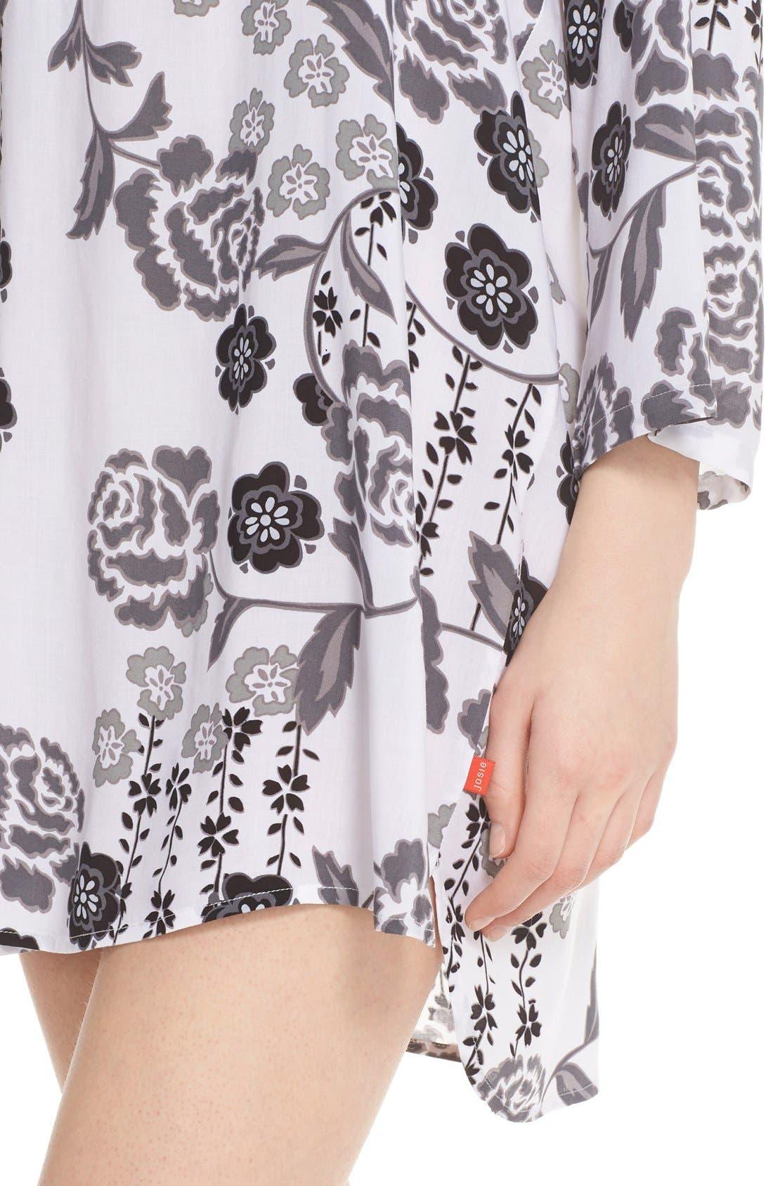 Alternate Image 4  - Josie 'Lovely Roses' Sleep Shirt