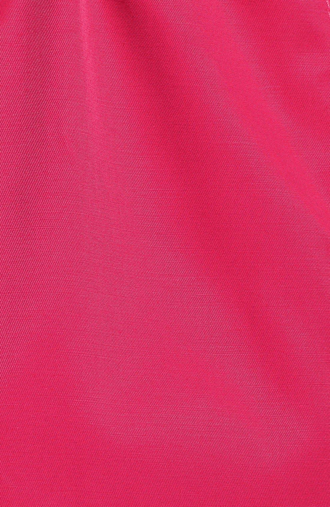 Detachable Hood Trench Coat,                             Alternate thumbnail 7, color,                             Primrose