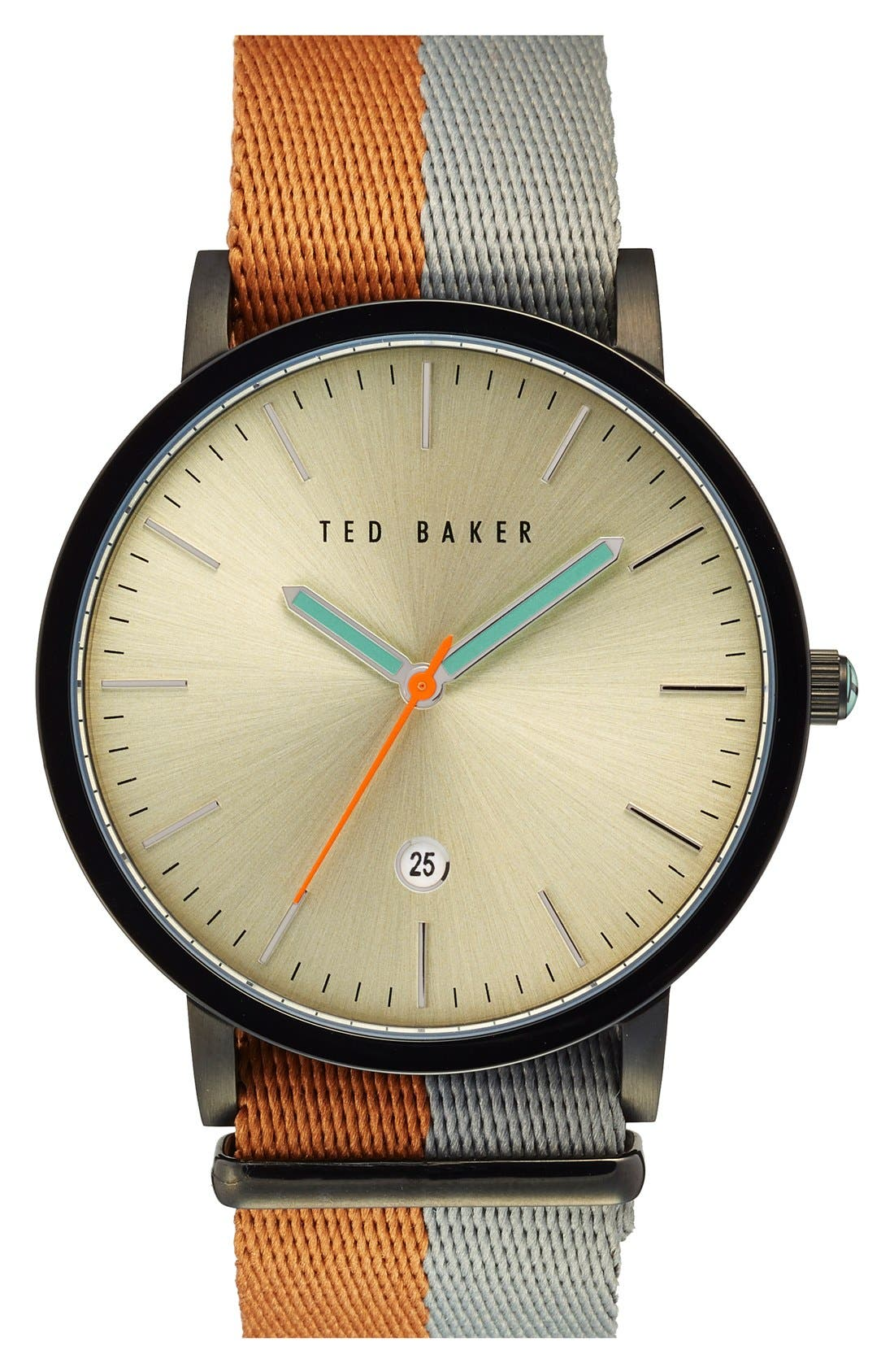 Ted Baker London NATO Strap Watch, 40mm