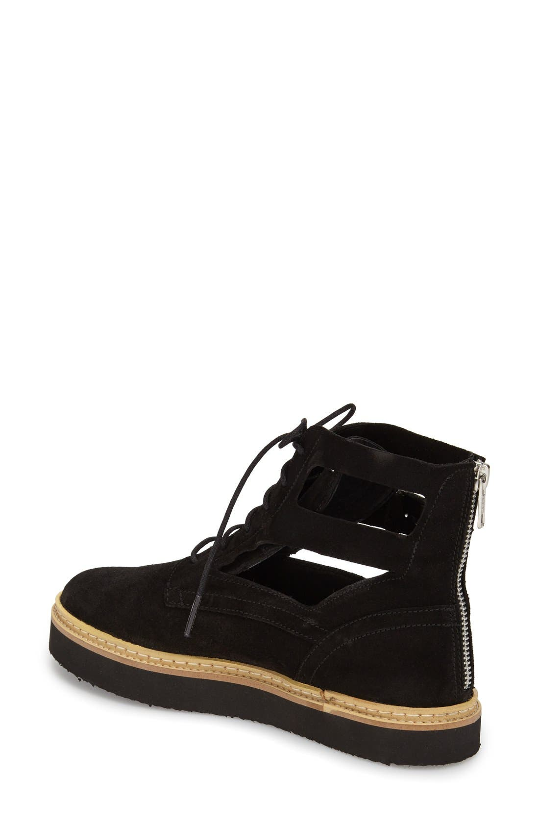 Alternate Image 2  - Topshop 'Attack' Cutout Bootie (Women)