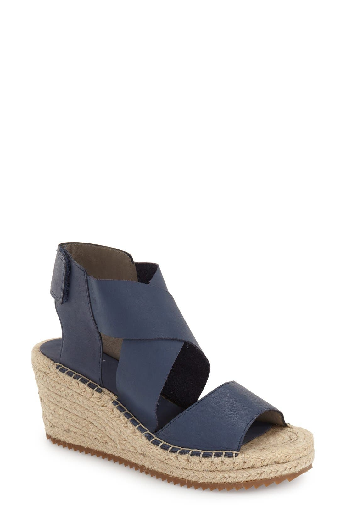 WILLOW PERFORATED NUBUCK ESPADRILLE SANDAL