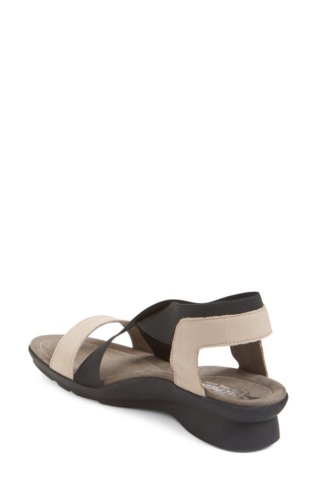 'Pastora' Sandal,                             Alternate thumbnail 2, color,                             Warm Grey