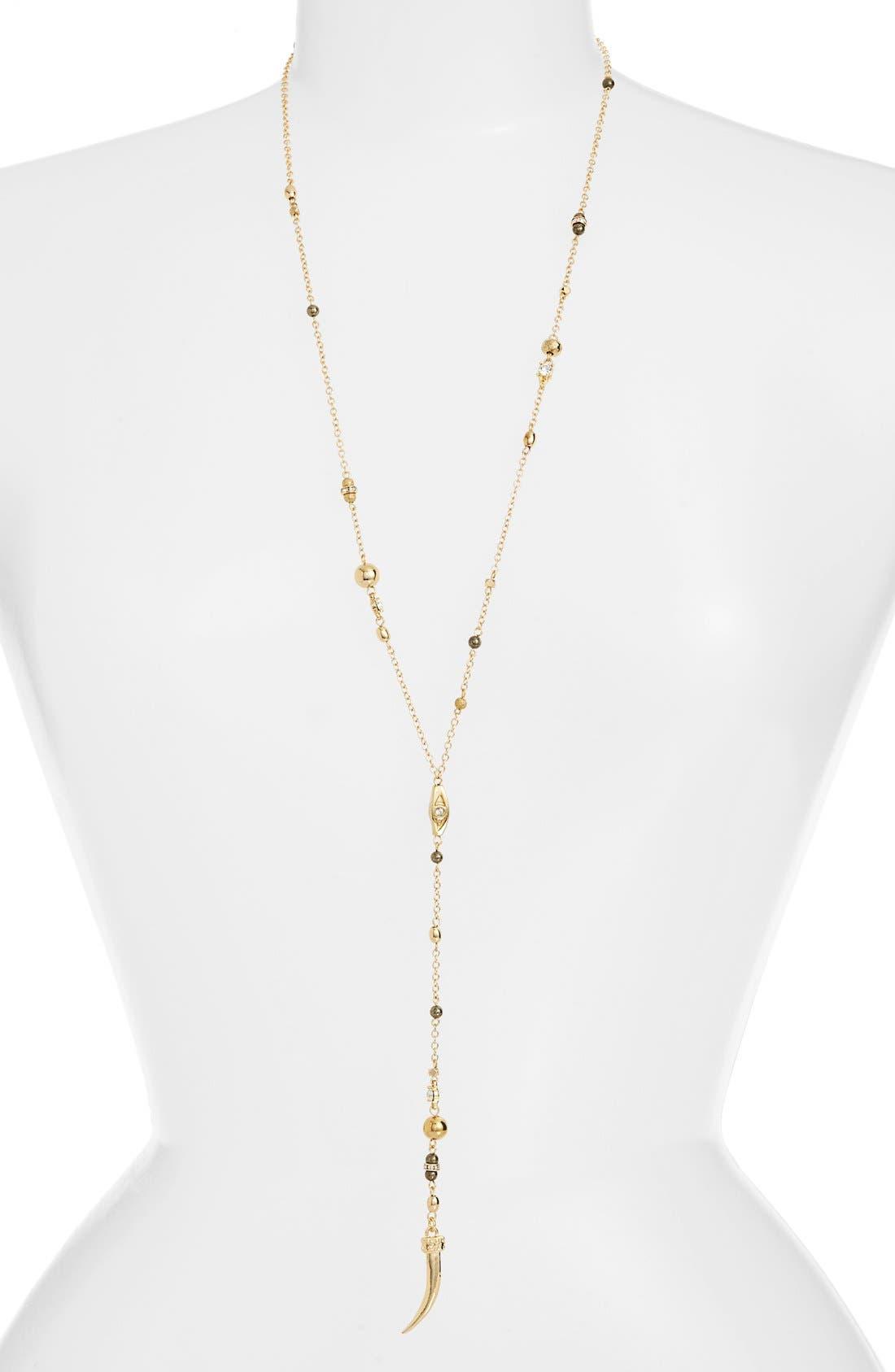 Main Image - Ettika Beaded Tooth Necklace