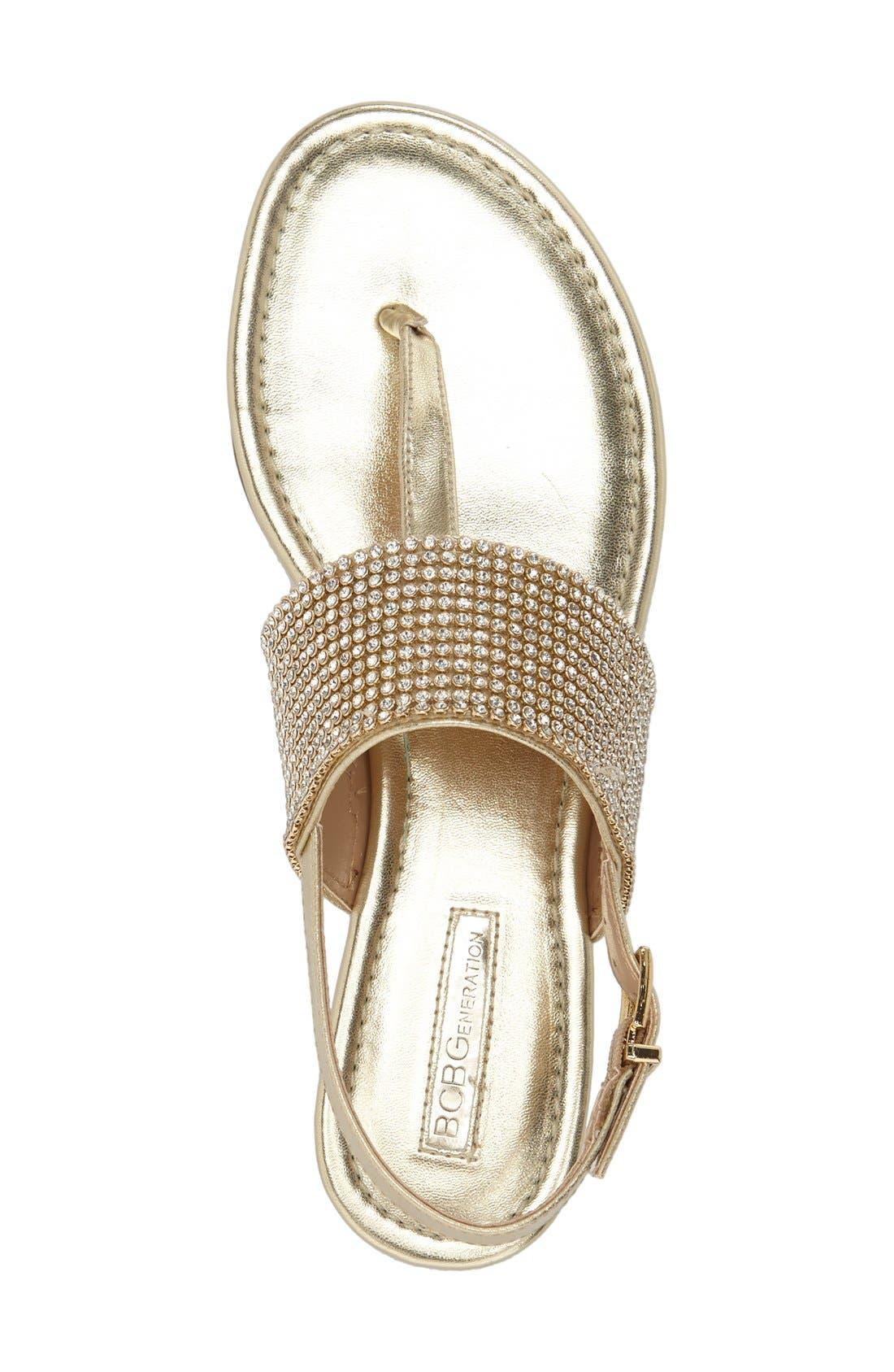 Alternate Image 3  - BCBGeneration 'Wander' Embellished Flat Sandal (Women)