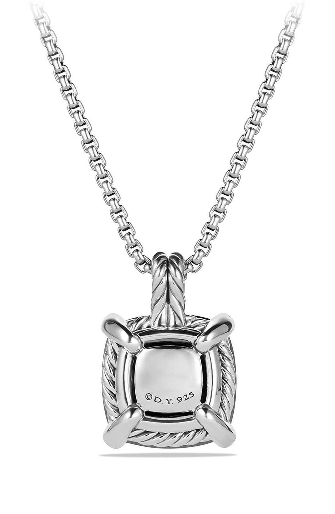 Alternate Image 3  - David Yurman 'Châtelaine' Pendant Necklace with Semiprecious Stone and Diamonds