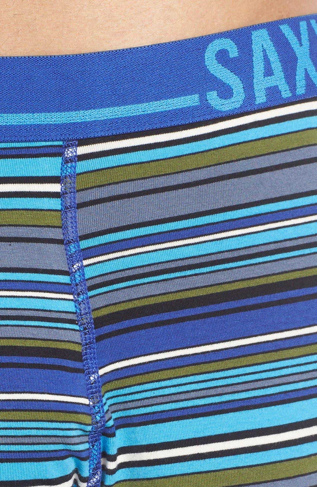 365 Boxer Briefs,                             Alternate thumbnail 5, color,                             Cobalt Blanket Stripe