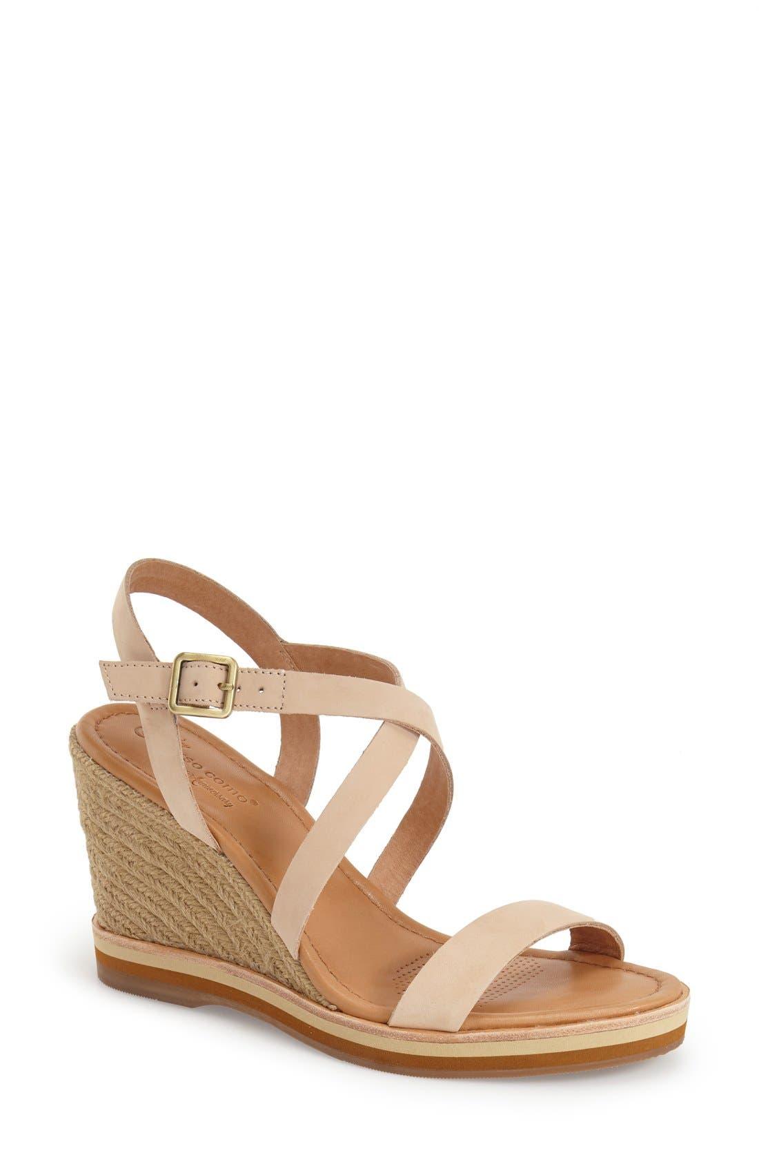 Alternate Image 1 Selected - Corso Como 'Gladis' Espadrille Wedge Sandal (Women)