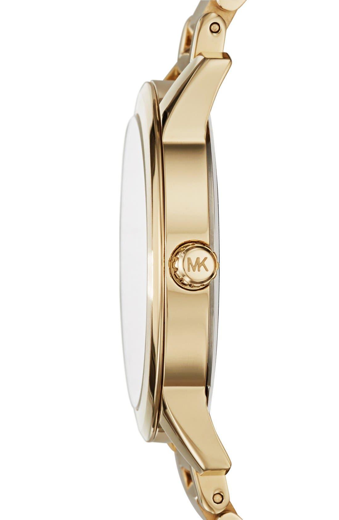 Alternate Image 2  - Michael Kors 'Hartman' Bracelet Watch, 38mm