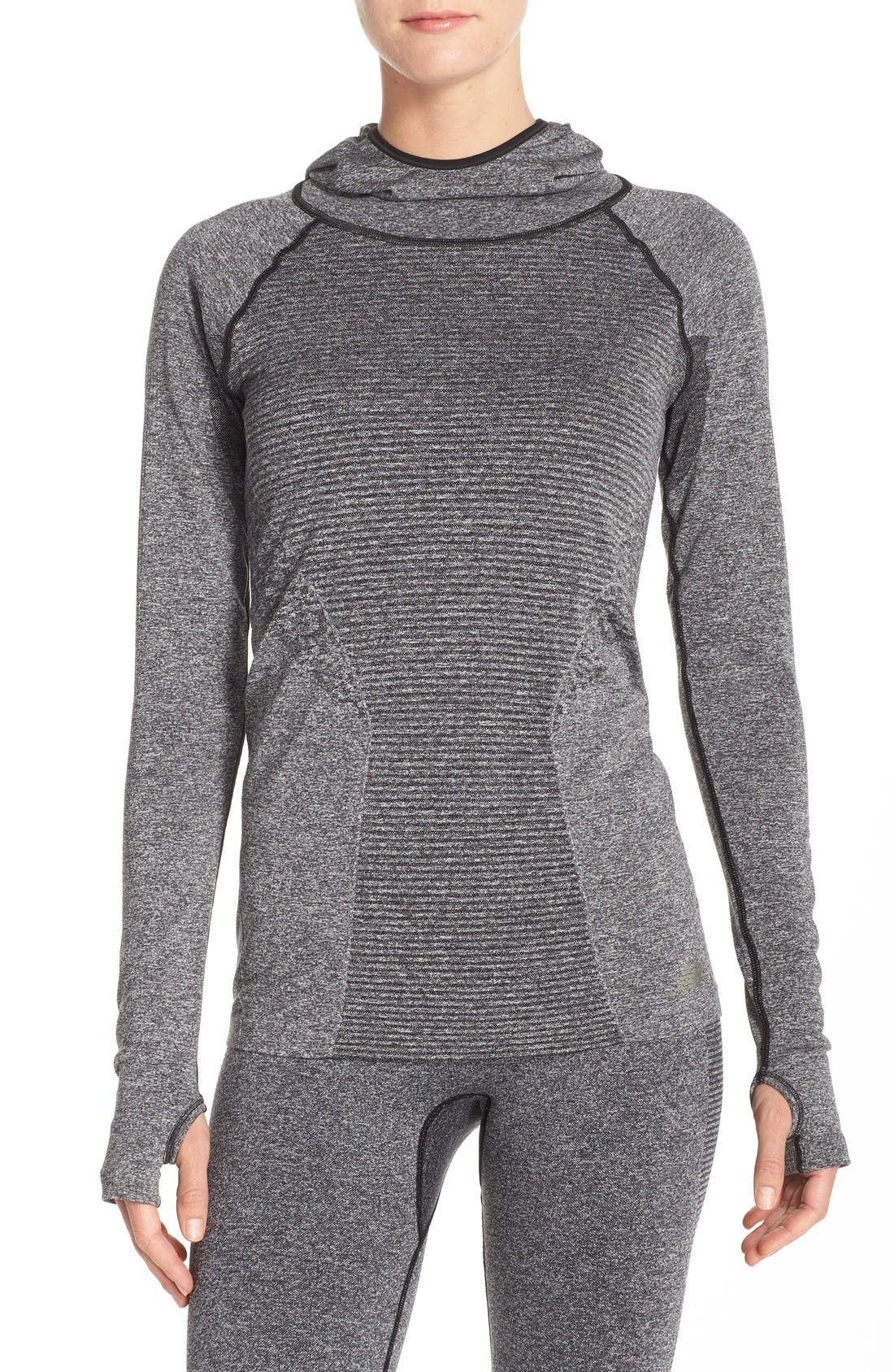 New Balance 'Premium - Made For Movement' Seamless Hoodie