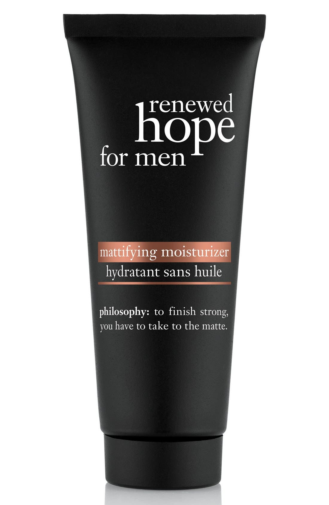 philosophy 'renewed hope' mattifying moisturizer for men