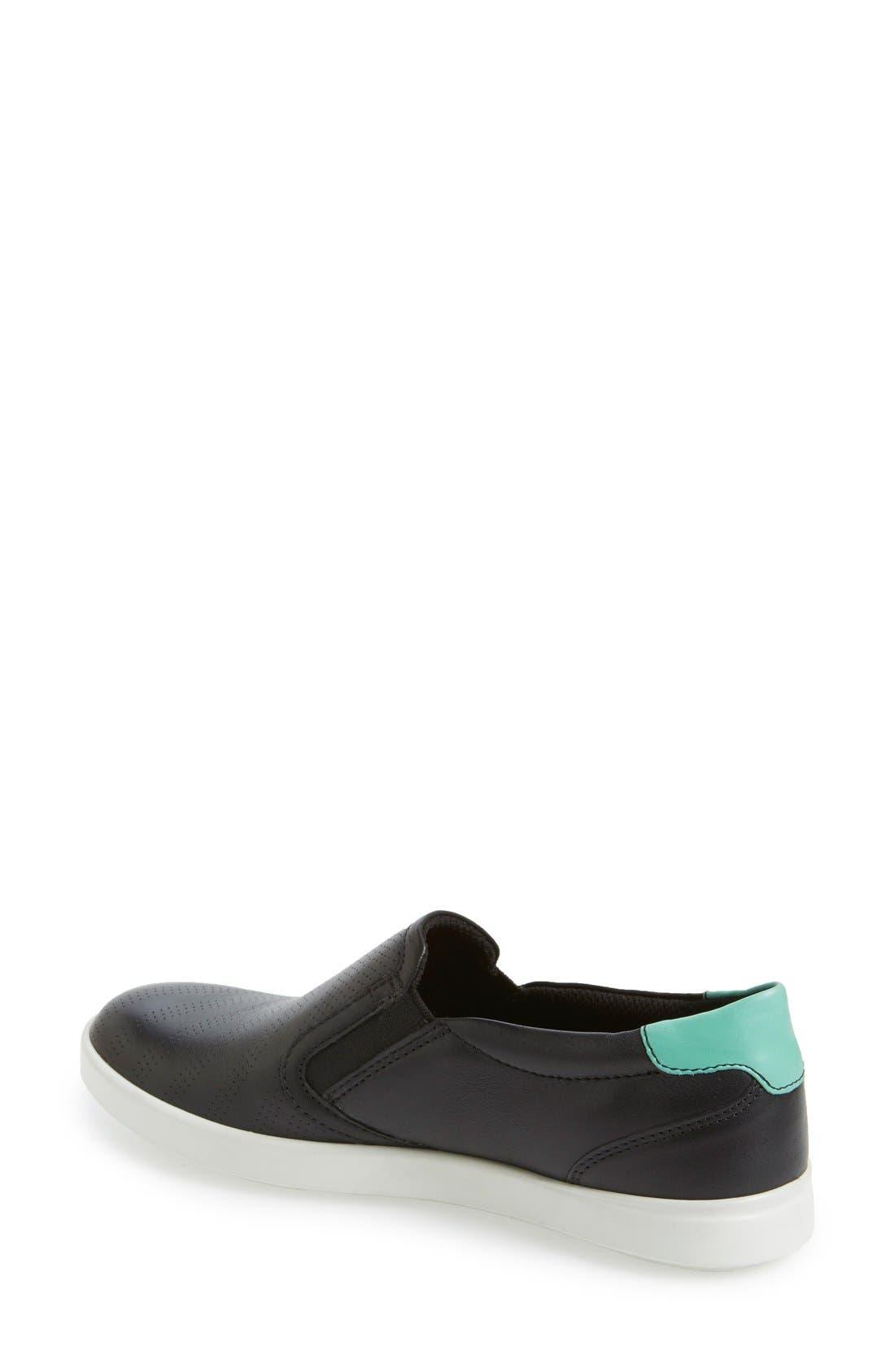 Alternate Image 2  - ECCO 'Aimee' Slip-On Sneaker (Women)