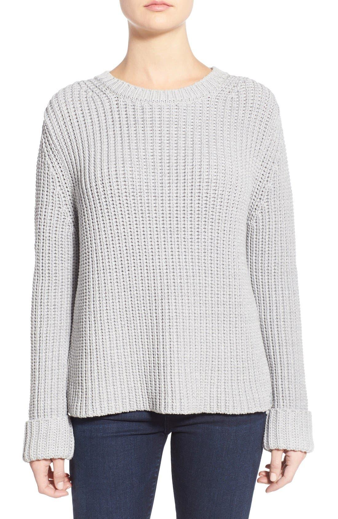 Alternate Image 1 Selected - Barbour 'Clove Hitch' Crewneck Sweater