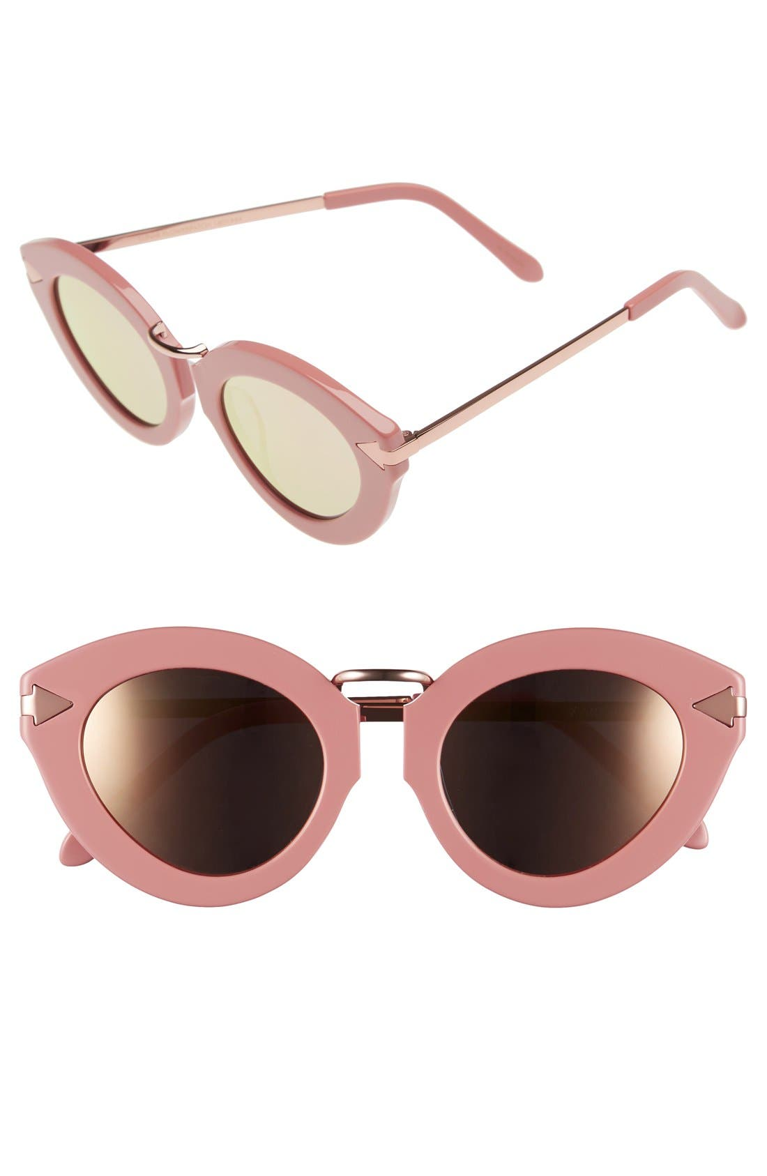 Alternate Image 1 Selected - Karen Walker 'Lunar Flowerpatch' 49mm Sunglasses