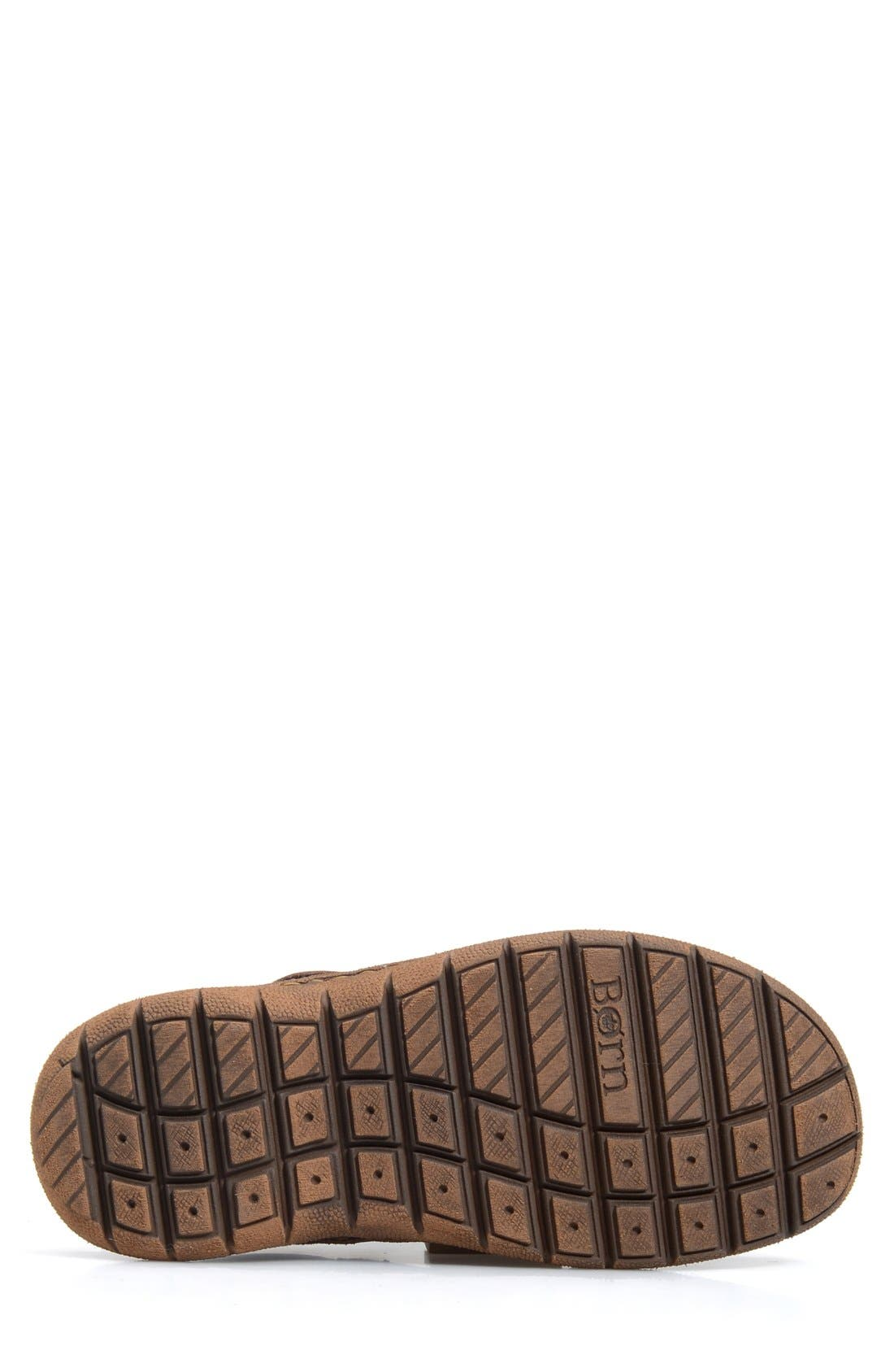 'Cabot II' Sandal,                             Alternate thumbnail 4, color,                             Brown Leather