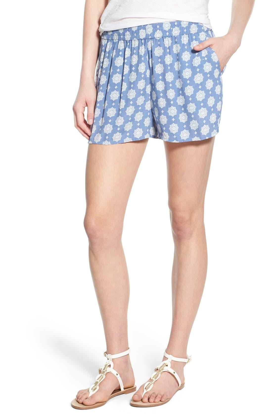 Main Image - BP. Woven Print Shorts