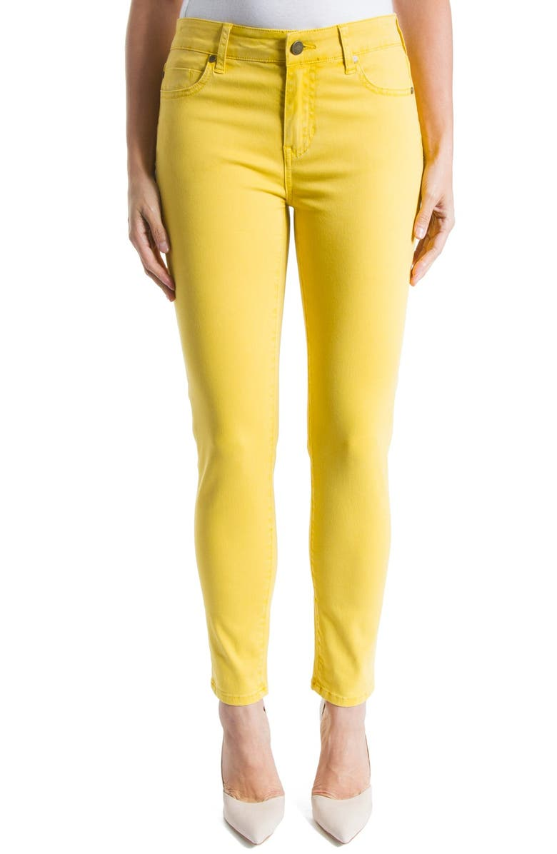 Liverpool Jeans Co  'Penny' Colored Stretch Ankle Skinny