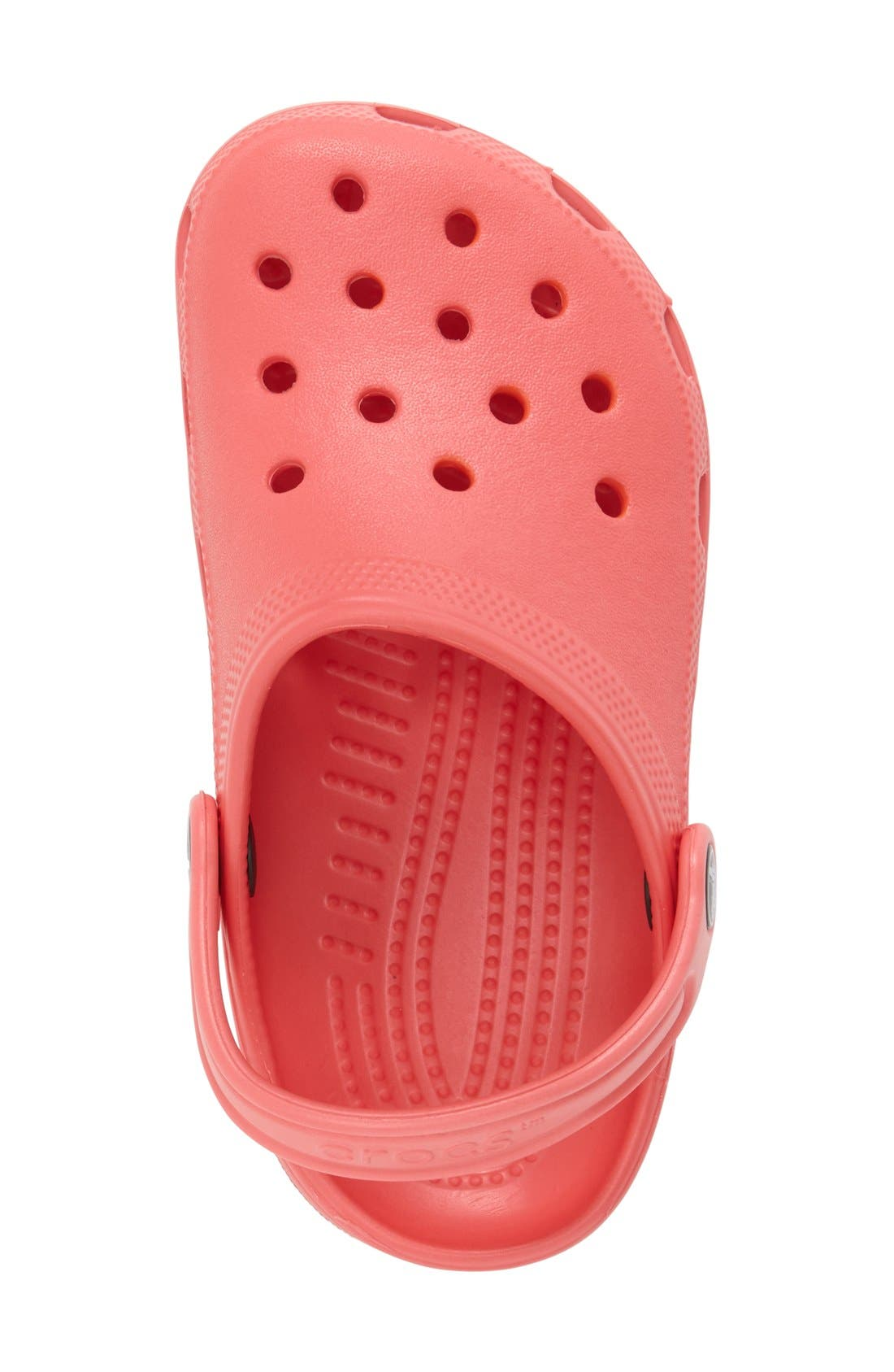 Alternate Image 3  - CROCS™ 'Classic Clog' Sandal (Walker, Toddler & Little Kid)
