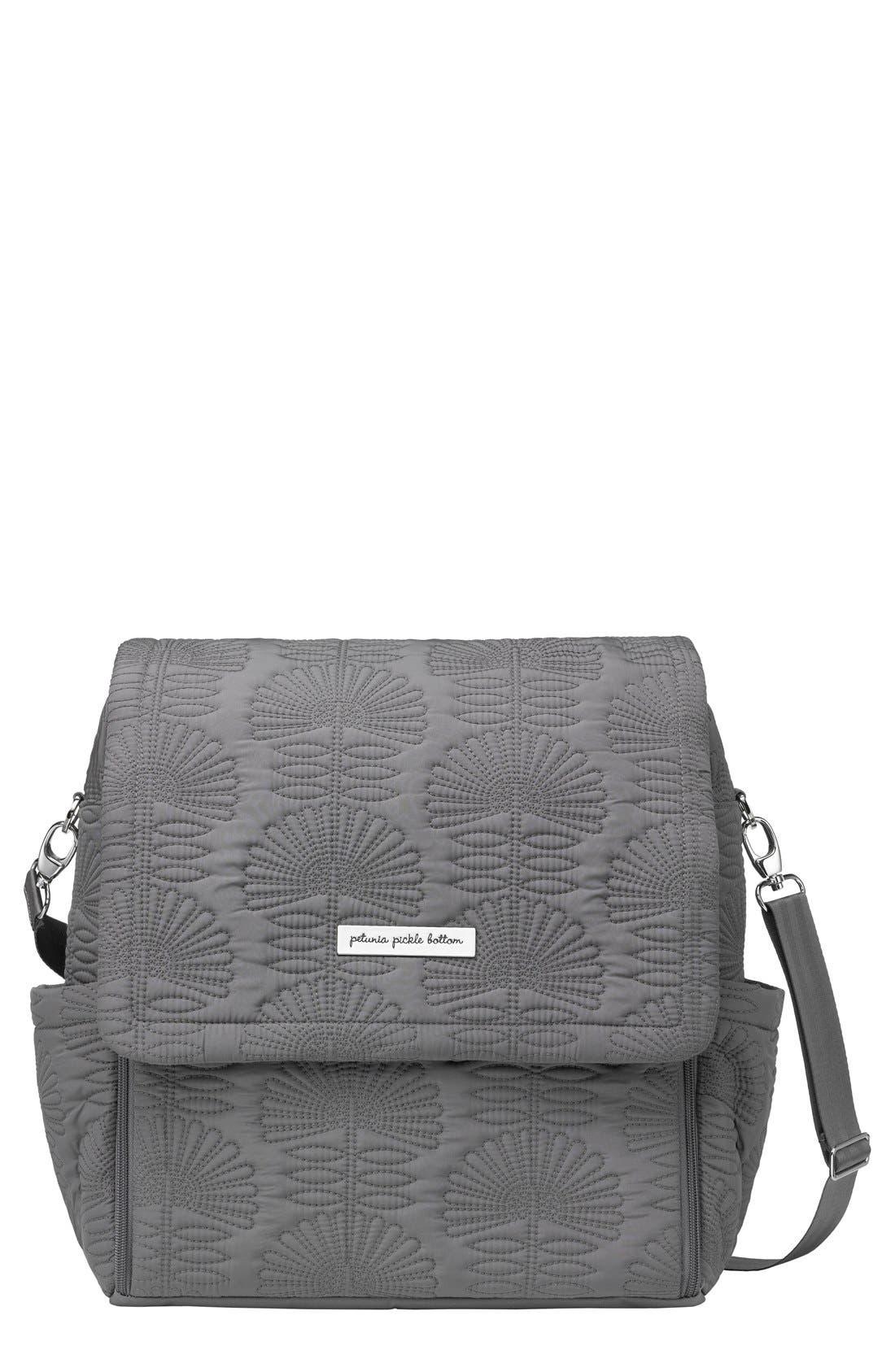 Petunia Pickle Bottom 'Embossed Boxy' Backpack Diaper Bag