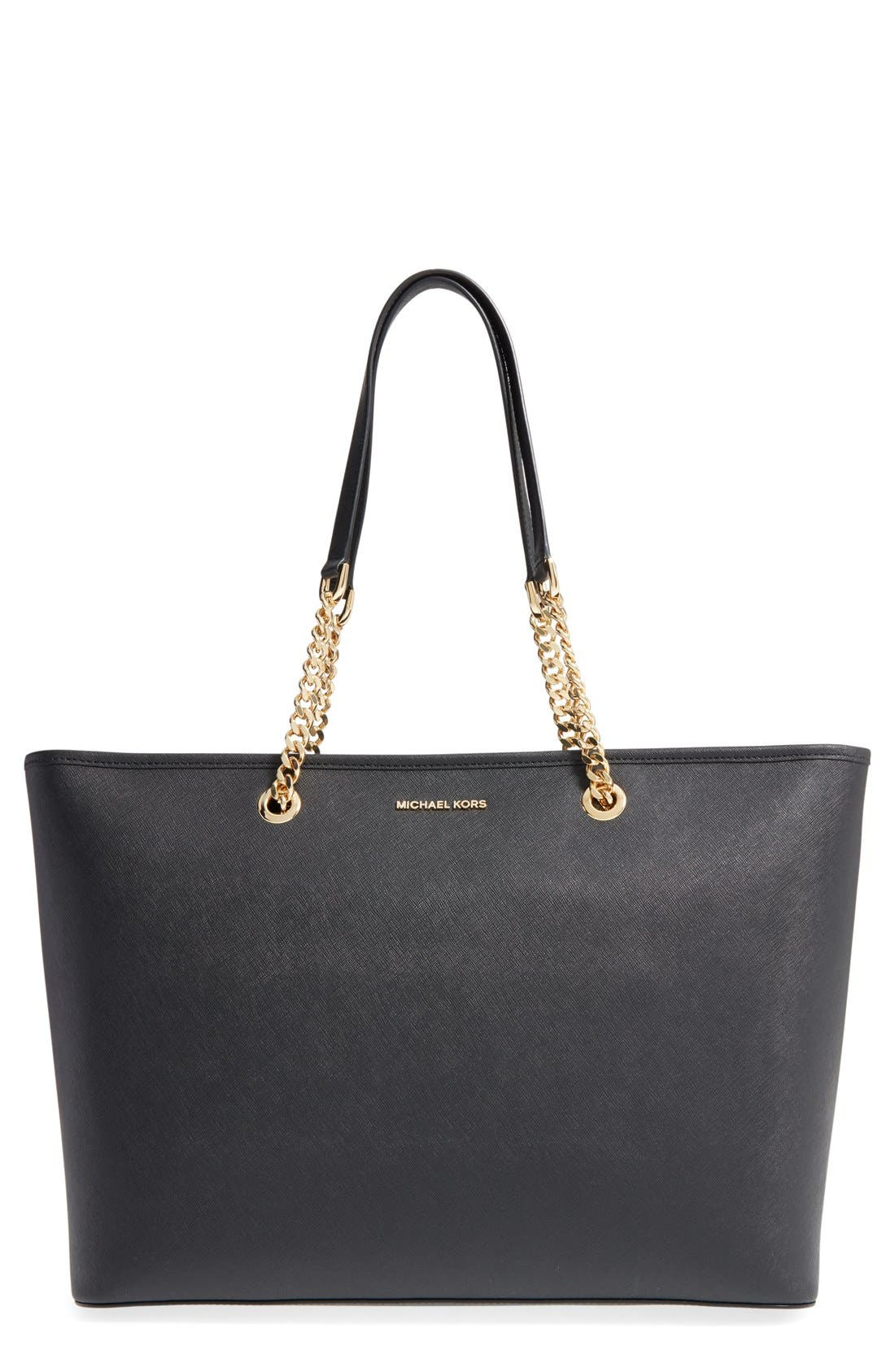 MICHAEL Michael Kors \u0027Medium Jet Set Chain\u0027 Saffiano Leather Tote