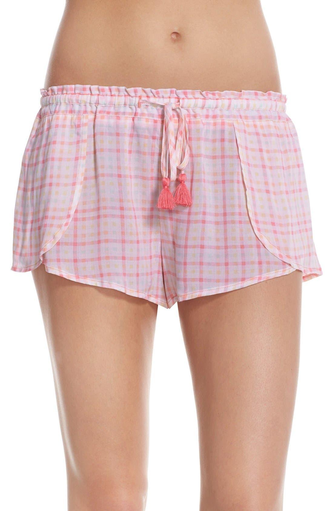 Main Image - Make + Model 'Smock' Lounge Shorts