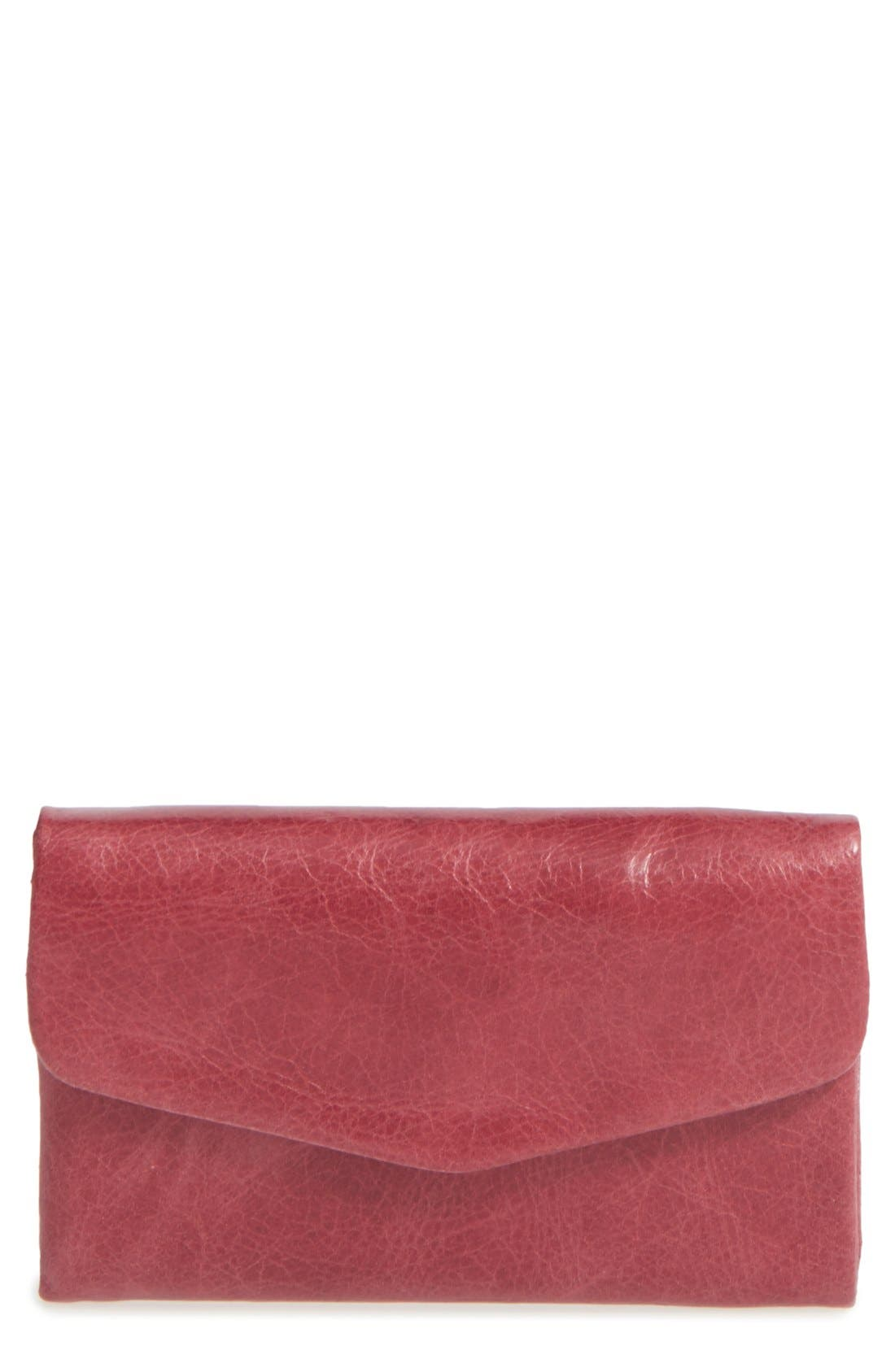 Alternate Image 1 Selected - Hobo 'Lacy' Trifold Wallet