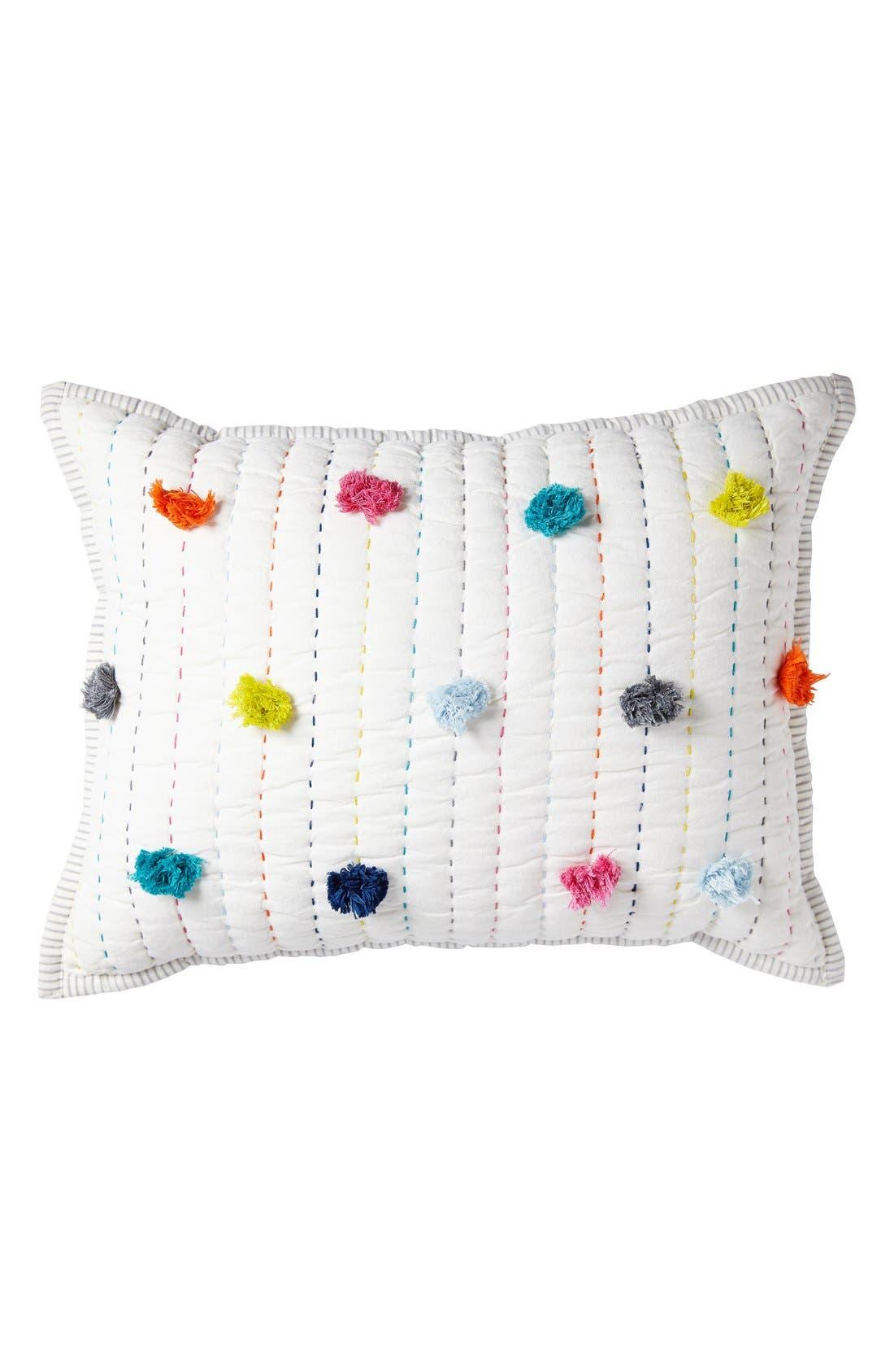 Pompom Pillow,                         Main,                         color, Pom Pom