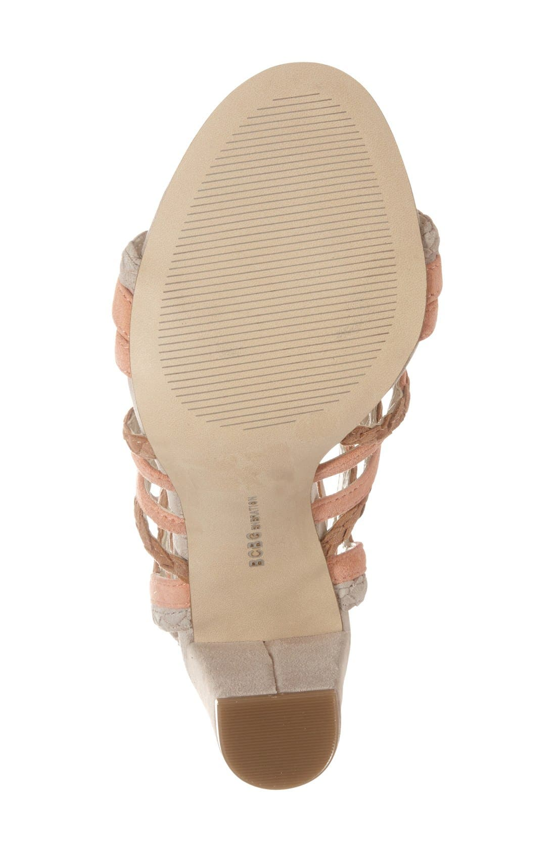 Alternate Image 4  - BCBGeneration 'Ronny' Lace-Up Sandal (Women)