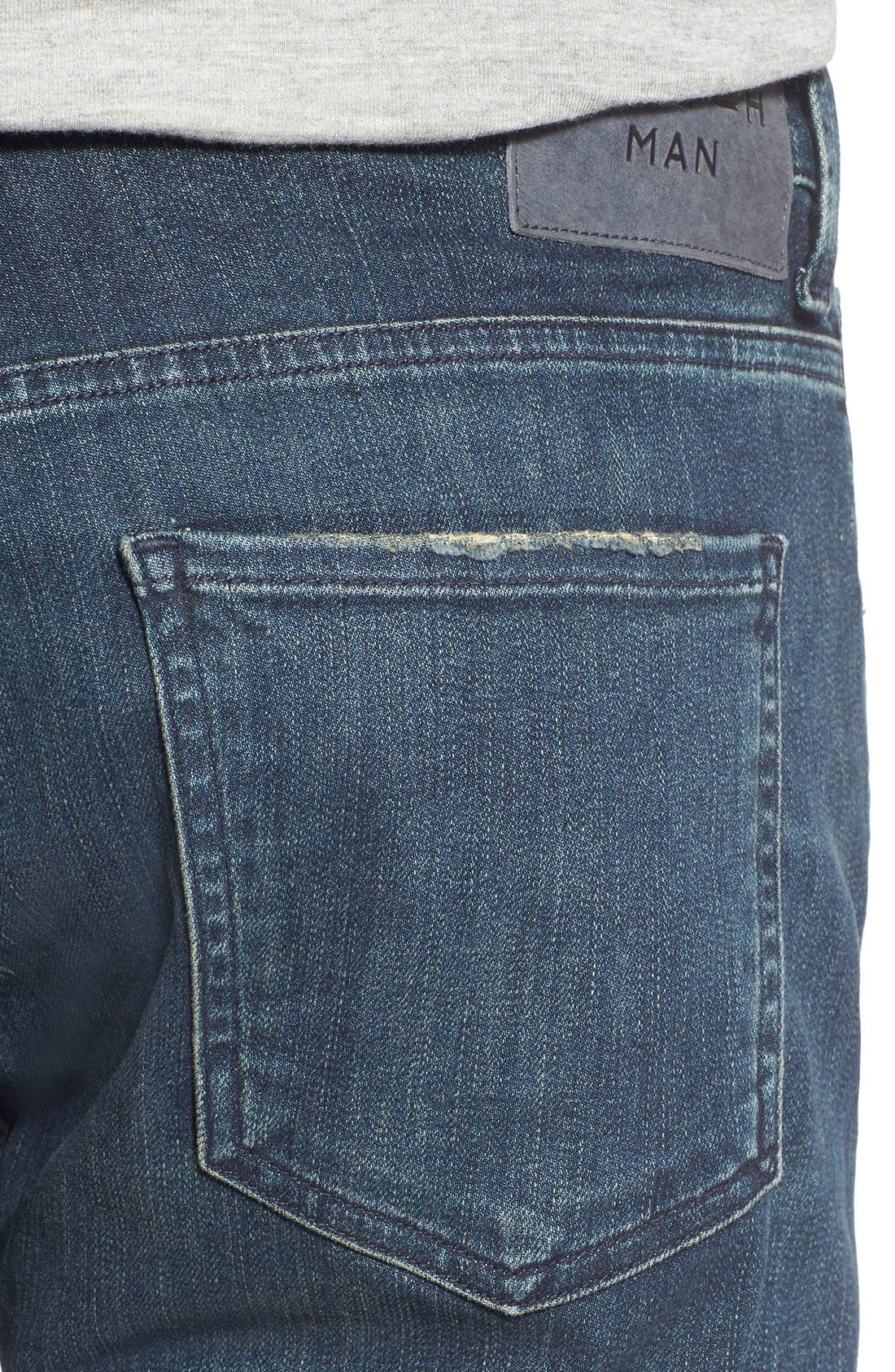 Alternate Image 4  - Citizens of Humanity Sid Straight Leg Jeans (Norland)