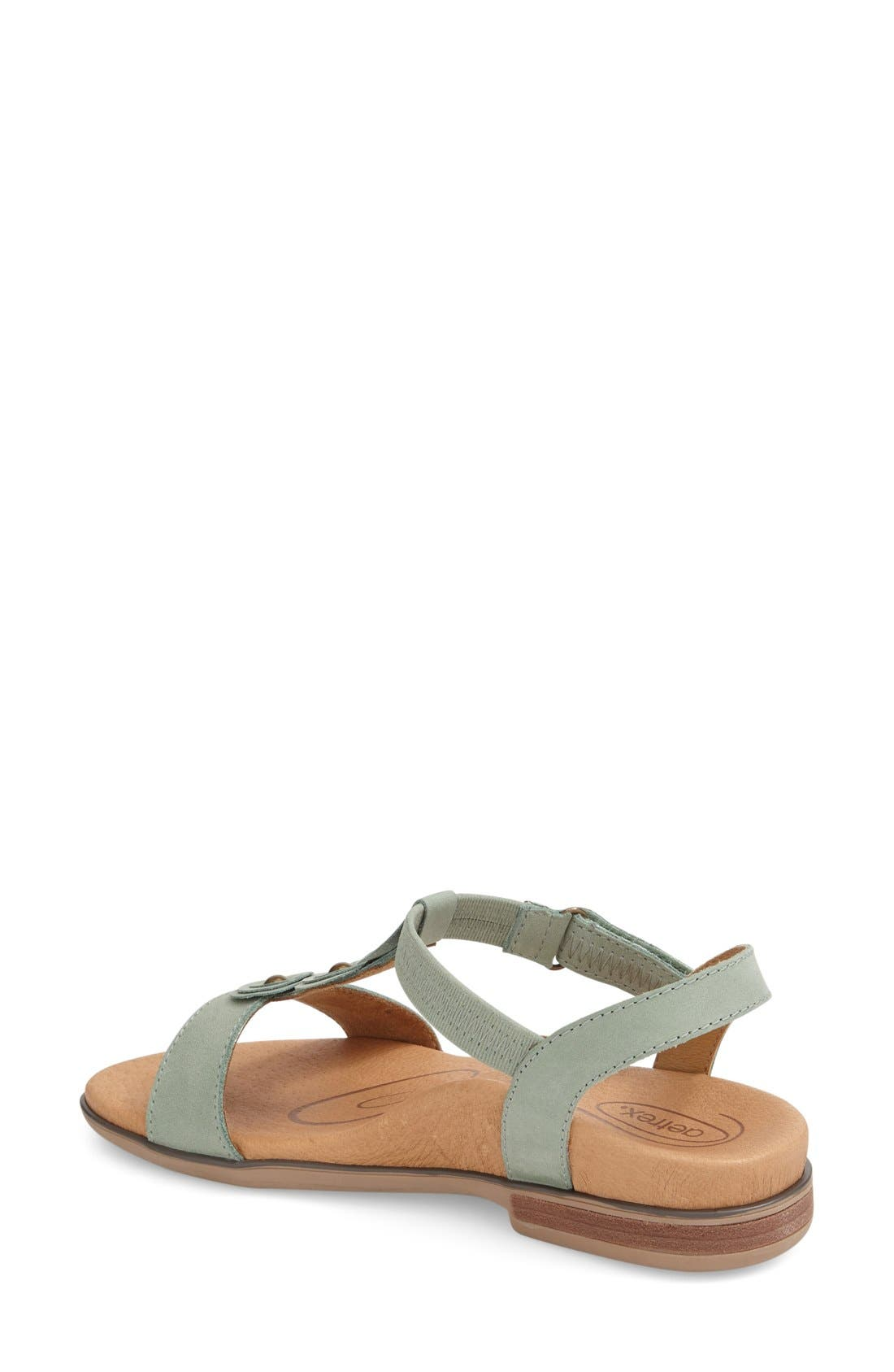 Alternate Image 2  - Aetrex 'Sharon' T-Strap Sandal (Women)