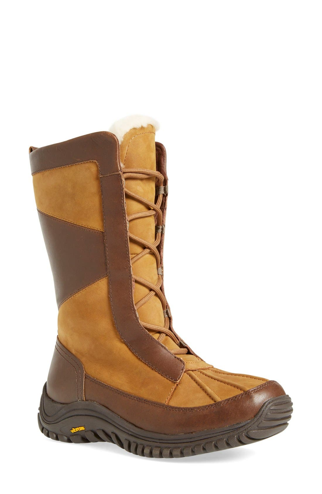 ugg quilted snow boots