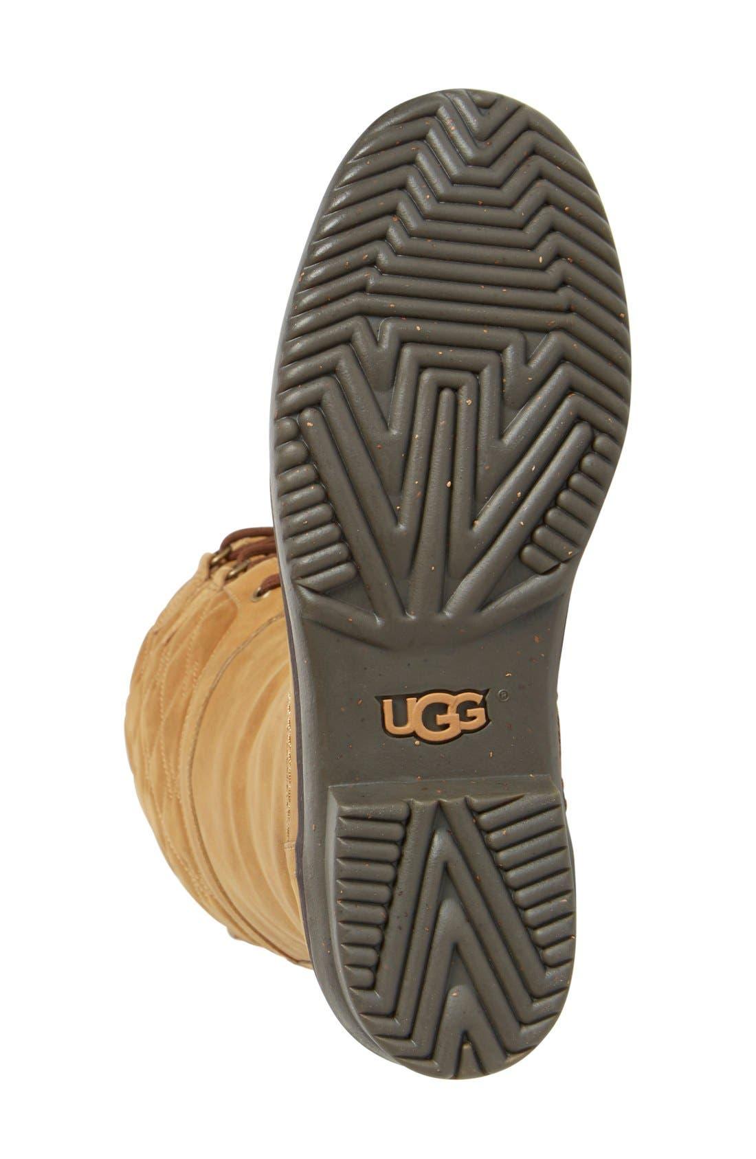 Alternate Image 4  - UGG® Elsa Quilted Waterproof Boot (Women)