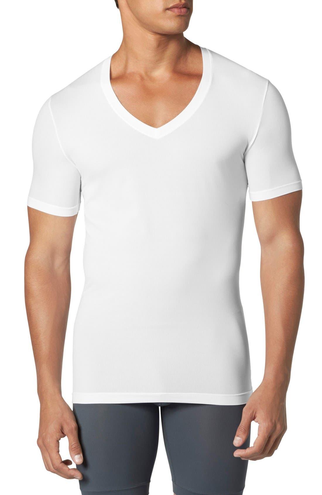 TOMMY JOHN Air Deep V-Neck Undershirt