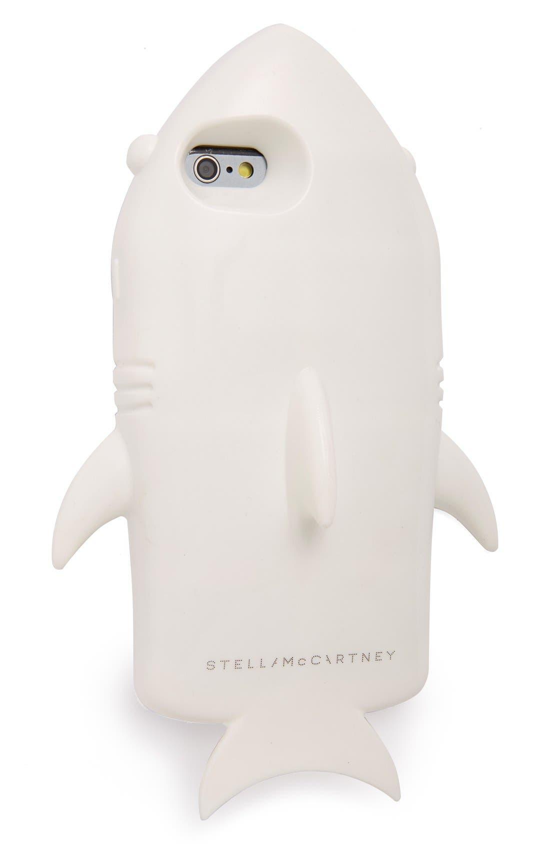 Alternate Image 1 Selected - Stella McCartney 'Shark' iPhone 6 & 6s Case
