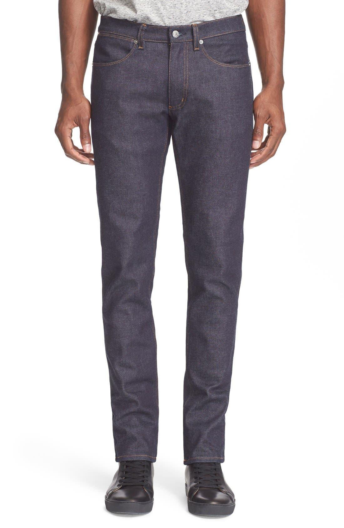 Alternate Image 1 Selected - ACNE Studios 'Max' Slim Straight Leg Jeans