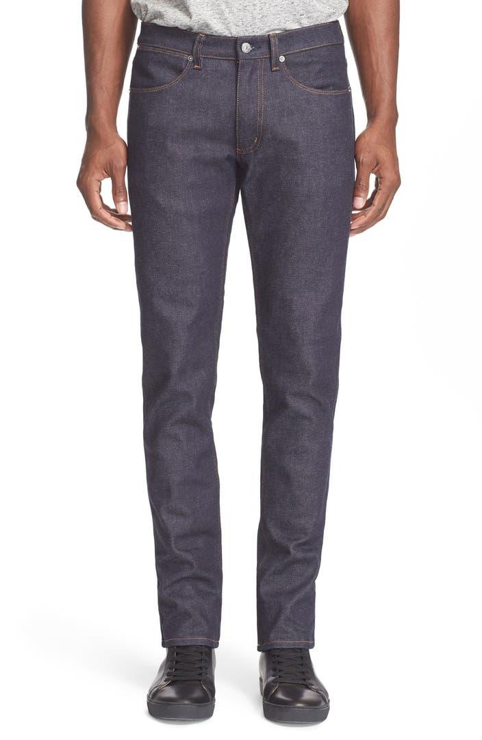 ACNE Studios 'Max' Slim Straight Leg Jeans | Nordstrom