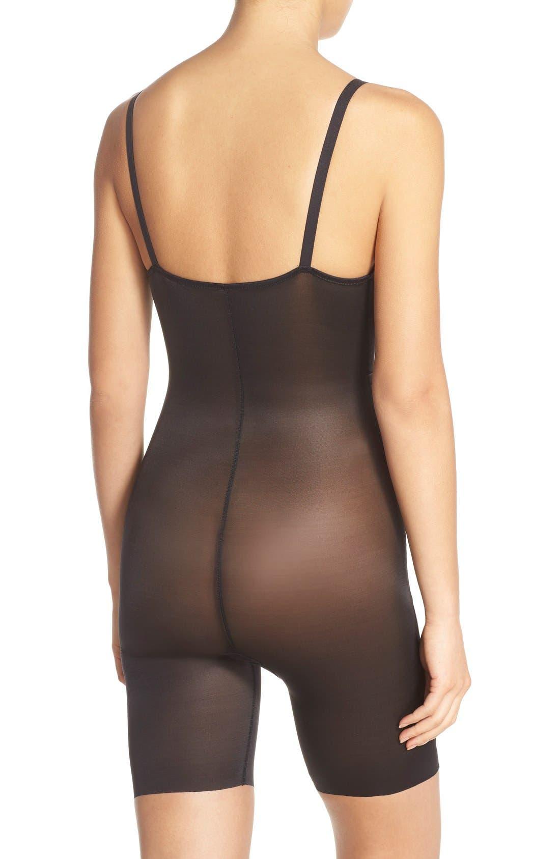 Alternate Image 2  - SPANX® 'Skinny Britches' Underbust Mid Thigh Shaper
