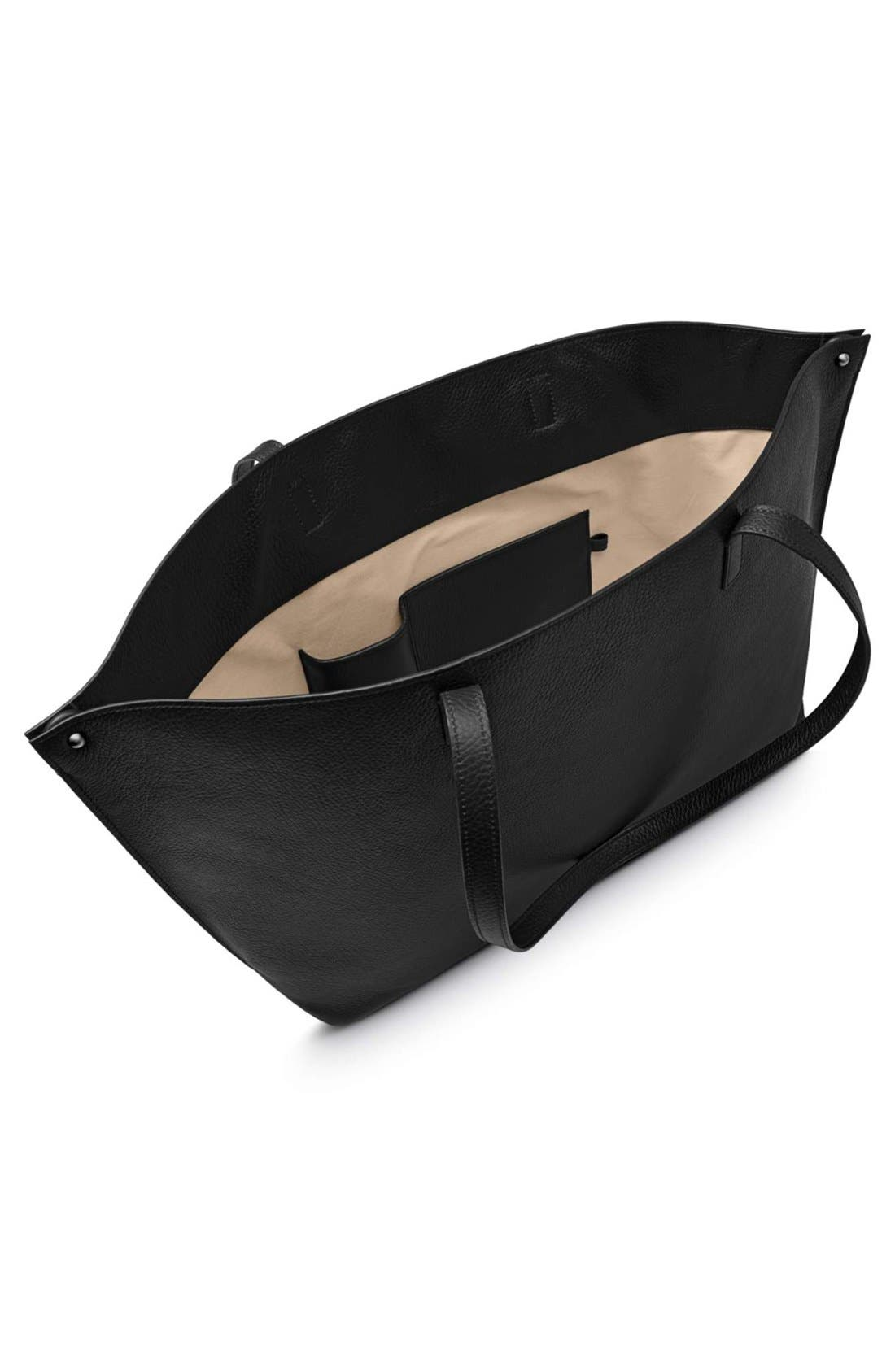 Alternate Image 5  - Akris 'Ai Medium Shoulder Tote' Leather Shoulder Tote