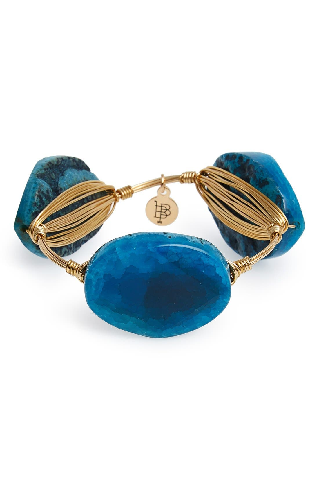 Main Image - Bourbon and Boweties Dyed Agate Bracelet