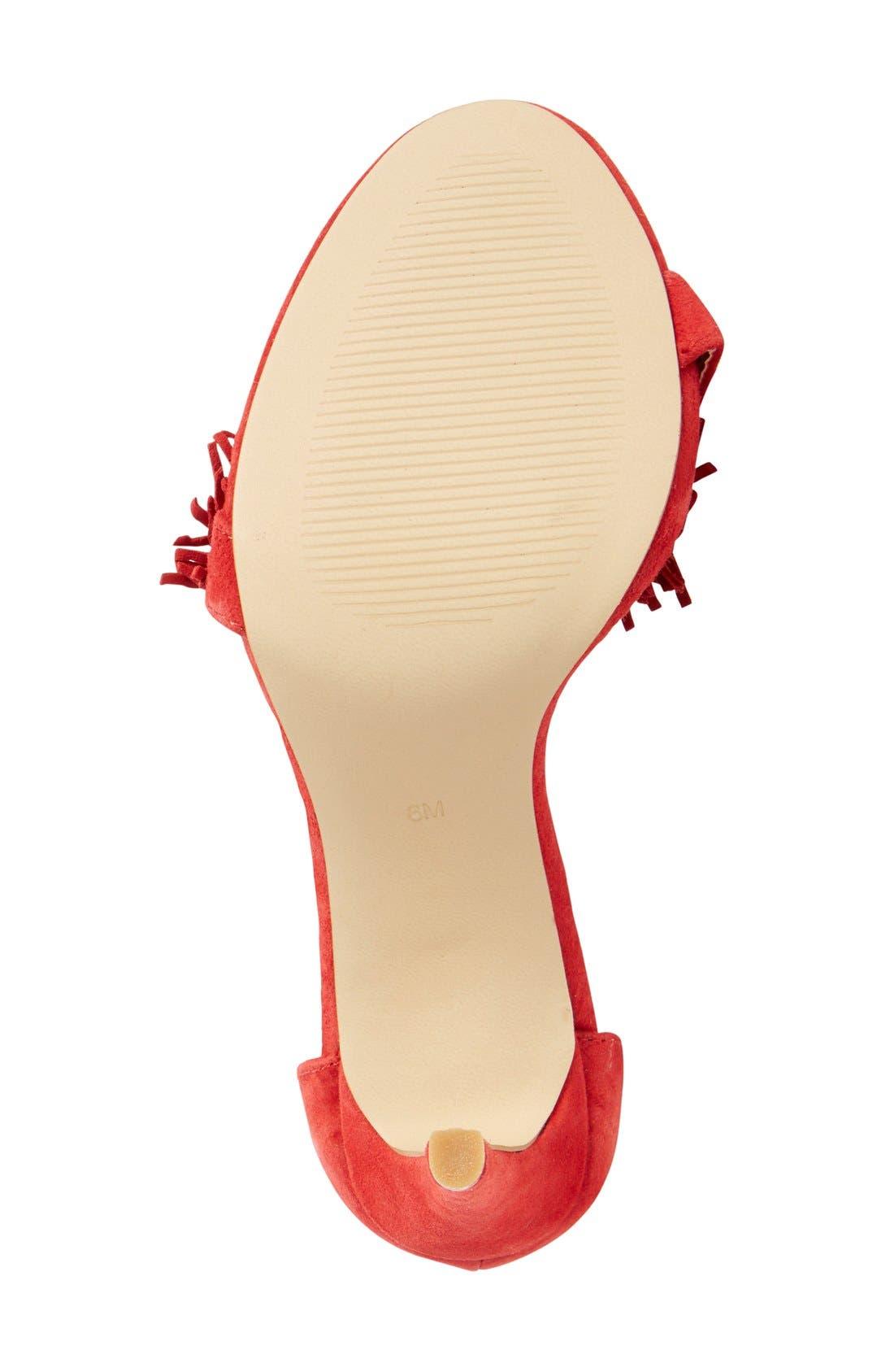 Alternate Image 4  - Steve Madden 'Sassey' Fringe Sandal (Women)