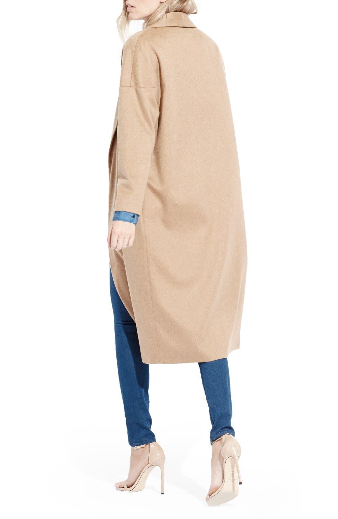 Alternate Image 2  - AYR'The Robe' Camel Hair MaxiCoat