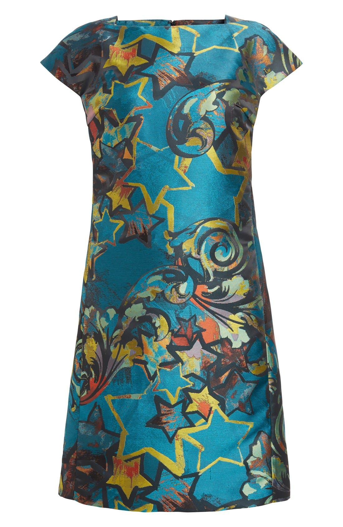 Alternate Image 4  - Versace Collection Jacquard Dress