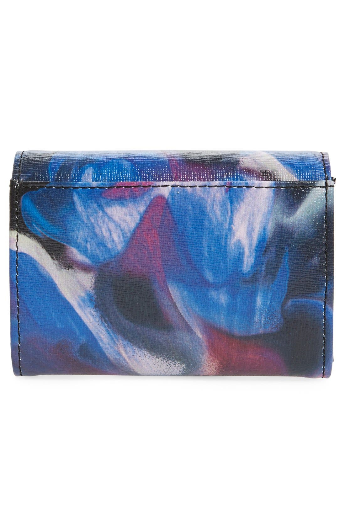 Alternate Image 4  - Ted Baker London 'Cosmic Bloom' Floral Print Leather Wallet