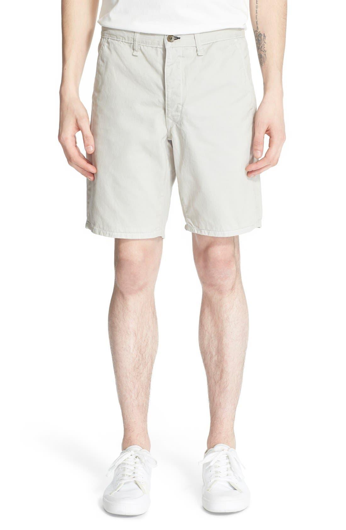 Main Image - rag & bone 'Standard Issue' Cotton Shorts