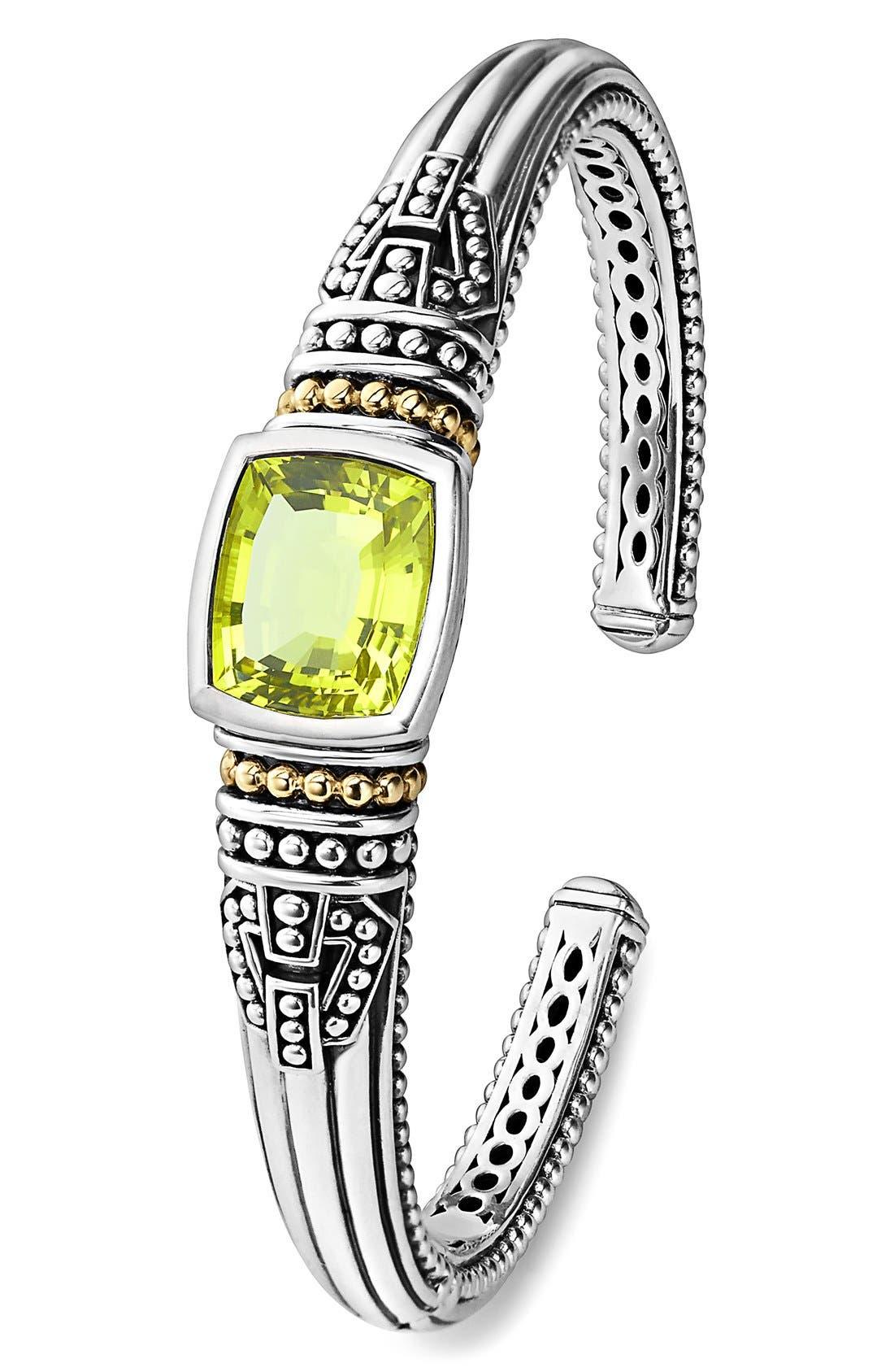 Alternate Image 2  - LAGOS 'Caviar Color' Semiprecious Stone Cuff