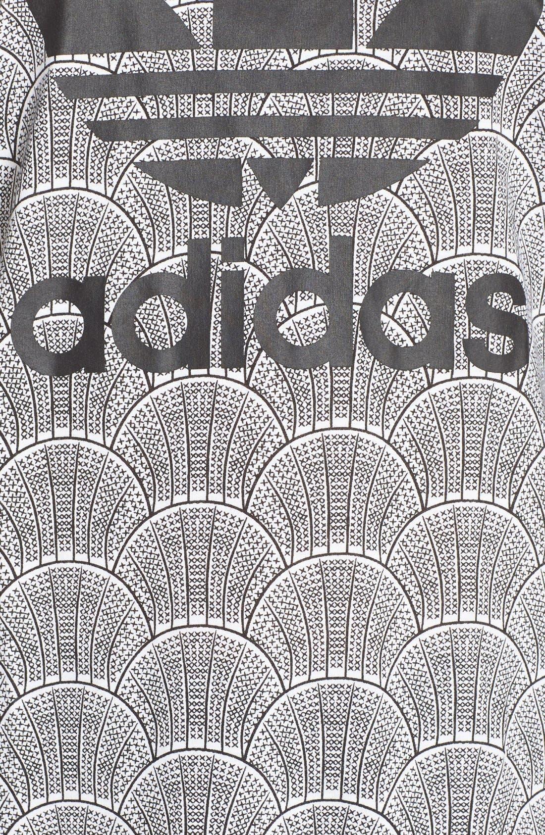 Alternate Image 5  - adidas Originals 'Shell Tile' Boyfriend Tee
