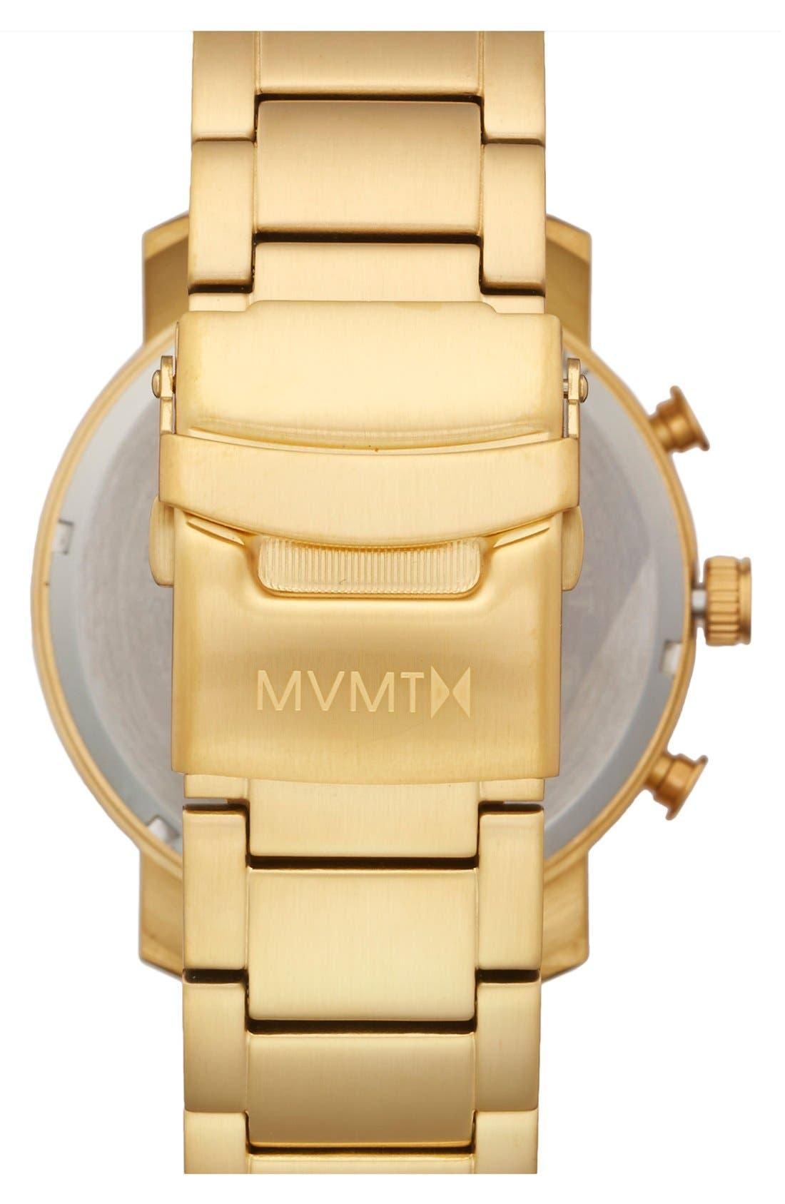 Alternate Image 2  - MVMT Chronograph Bracelet Watch, 45mm