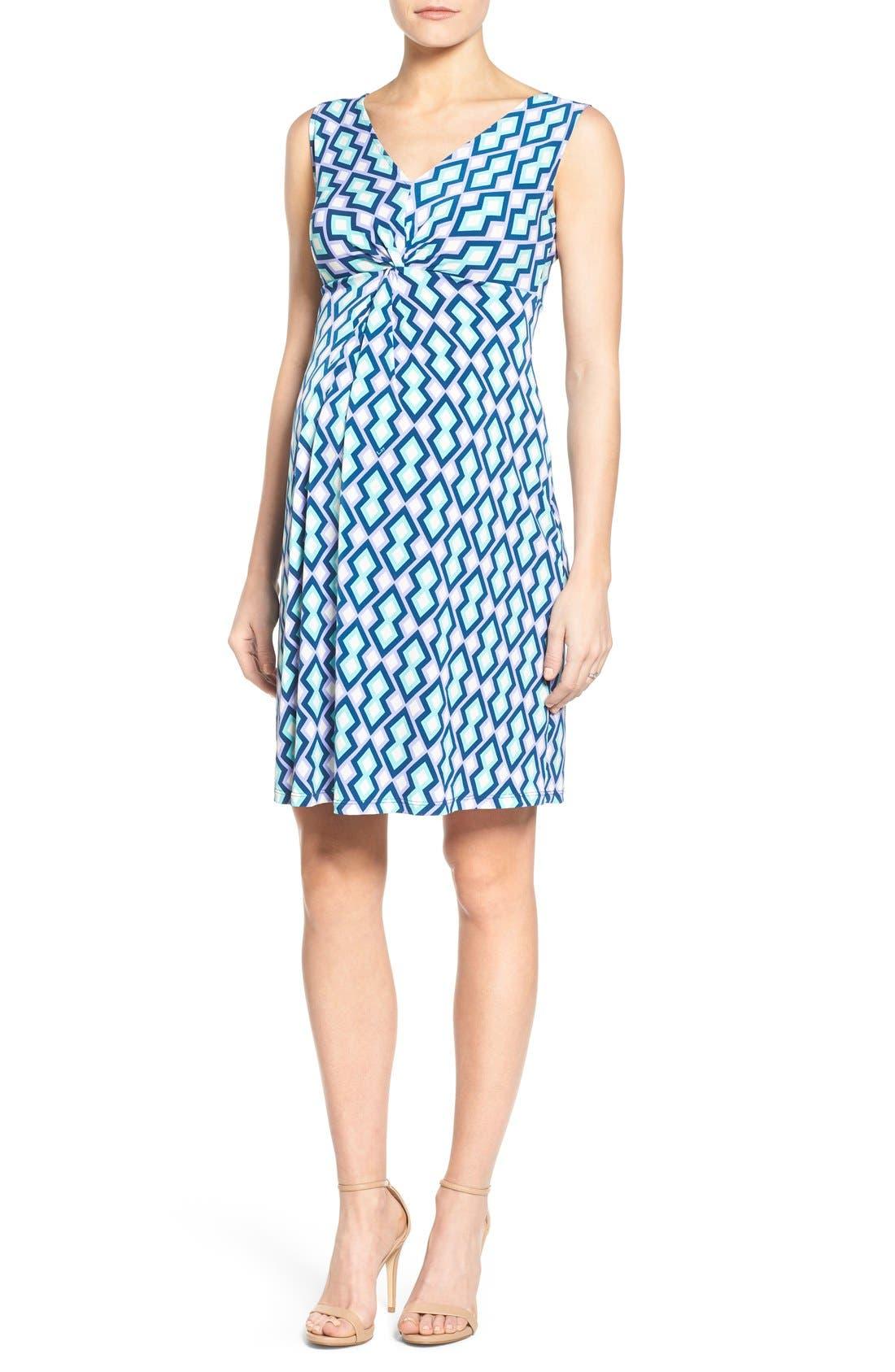 Alternate Image 1 Selected - Leota Sleeveless Maternity Dress